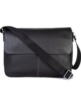 Tyler Leather Messenger Bag by Boconi
