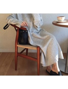 Women Autumn Winter Turtleneck Pullover Sweater Long Knitted Dress Female Long Sleeve Vestido Casual Sarafan Loose Robe Femme by Snordic