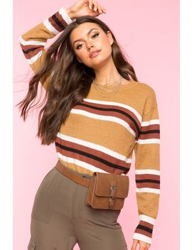 Callie Stripe Sweater by A'gaci
