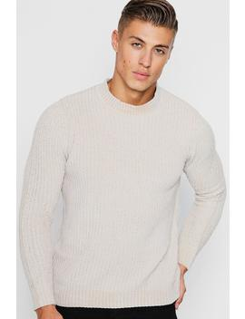 Chenille Turtle Neck Jumper by Boohoo
