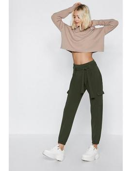 Cargo The Distance High Waisted Pants by Nasty Gal