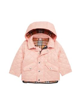 Ilana Quilted Water Repellent Jacket by Burberry