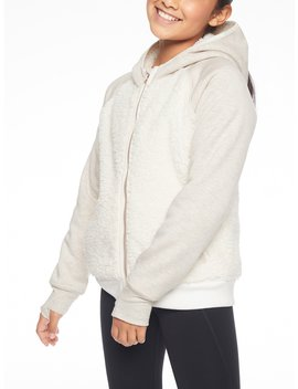 Athleta Girl Sherpa Full Zip Jacket by Athleta