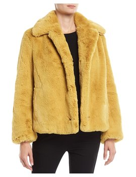 Alnswick Faux Fur Chubby Coat by Burberry