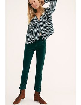 3x1 Higher Ground Velvet Jeans by Free People