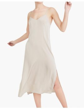 The Great Eros® Silk Anesi Darted Slip Dress by Madewell