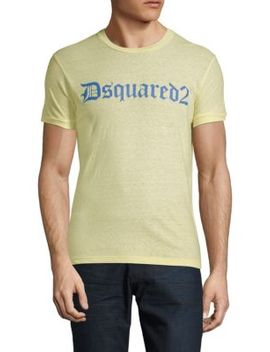Logo Cotton Tee by Dsquared2