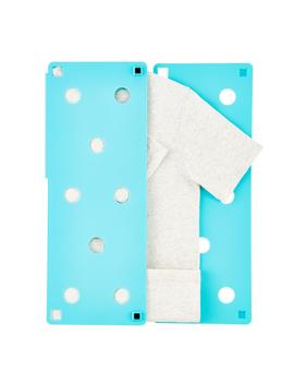 Aqua Flip Fold Laundry Folder by Container Store