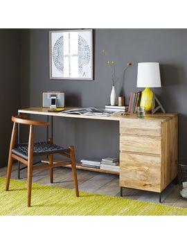 Industrial Modular Desk Set – Box File by West Elm