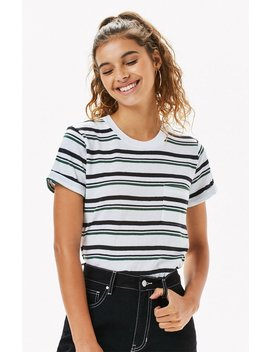 Me To We Striped Scorpio Pocket T Shirt by Pacsun