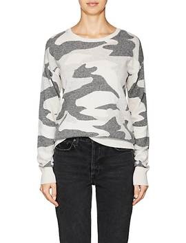 Camouflage Cashmere Sweater by Barneys New York