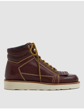 Leather Hiking Boot by J.W. Anderson