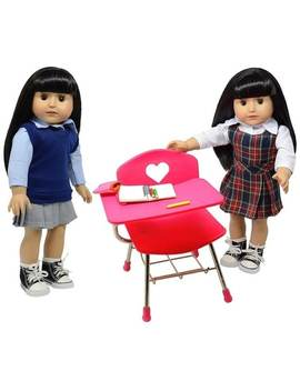 Doll School Desk Set by The New York Doll Collection