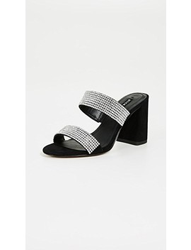 Laleah Double Strap Sandals by Alice + Olivia