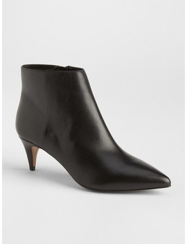 Kitten Heel Booties by Gap