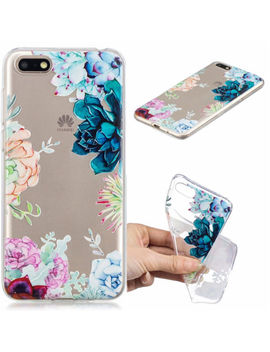 Shockproof Clear Silicone Soft Tpu Cover Case For Huawei Y5 Y7 Y9 2018 Honor 10 by Ebay Seller