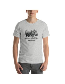 Funny Hippo Saying T Shirt, Hippo Lover Tee, Skeptical Hippopotamus Quote Tshirt, Funny Animal Short Sleeve Unisex T Shirt by Etsy