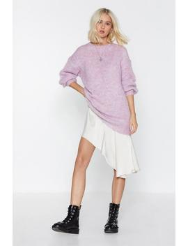 Sorry Knit Sorry Oversized Sweater by Nasty Gal