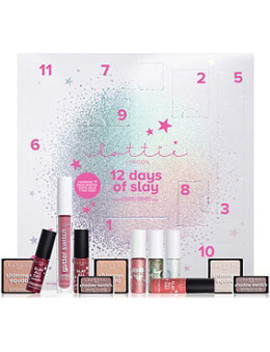 Online Only 12 Days Of Slay Beauty Countdown Calendar by Lottie London