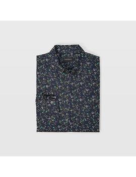 Slim Winding Daisy Shirt by Club Monaco