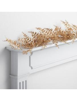 Gold Fern And Berry Garland by World Market