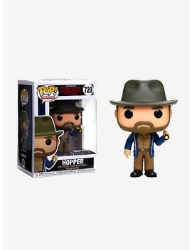 Funko Stranger Things Pop! Television Hopper With Flashlight Vinyl Figure by Hot Topic