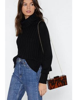 Want Something's Got A Hold On Me Tortoiseshell Bag by Nasty Gal