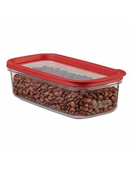 Rubbermaid Modular Food Storage Container, 5 Cup, Racer Red 1840747 by Rubbermaid