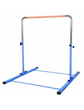 Tj Fitness Gymnastics Training Bar  Height Adjustable 3' To 5' Horizontal Kip Bar Kids by T&J Fitness