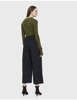Addison Wide Leg Pant In Black by Stelen