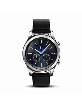 Samsung Gear S3 Classic Smartwatch 4 Gb Sm R770 With Leather Band (Silver) Tizen Os   International Version With No Warranty (Certified Refurbished) by Samsung