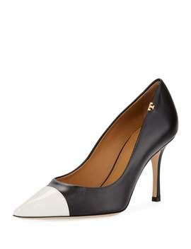 Penelope Two Tone 85mm Pumps by Tory Burch
