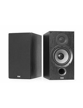 Elac Debut 2.0B6.2Bookshelf Speaker–Black (Pair) by Amazon