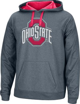 Scarlet & Gray Men's Ohio State Buckeyes Gray Foundation Hoodie by Scarlet & Gray