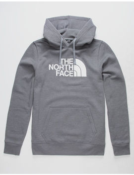 The North Face Half Dome Logo Heather Gray Mens Hoodie by The North Face