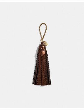 Tassel Bag Charm by Coach