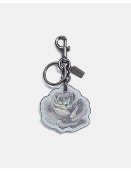 Rose Floral Bag Charm by Coach