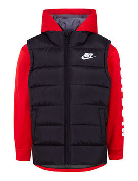 Little Boys Therma Fit Quilted 2 In 1 Jacket by Nike