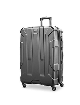 Samsonite Centric Expandable Hardside Checked Luggage With Spinner Wheels, 28 Inch, Black by Samsonite