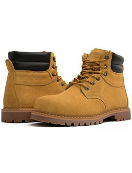 Kingshow Men's 1366 Water Resistant Premium Work Boots by Kingshow