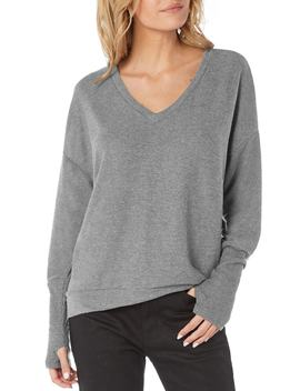 Madison Brushed Jersey Sweater by Michael Stars