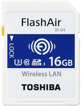 Toshiba Thn Nw04 W0160 E6 16 Gb Flash Air W 04 Wireless Sd Karte by Amazon