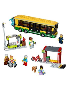 Lego City Town Bus Station 60154 Building Kit (337 Piece) by Lego