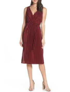 Sleeveless Pleated Dress by Bb Dakota