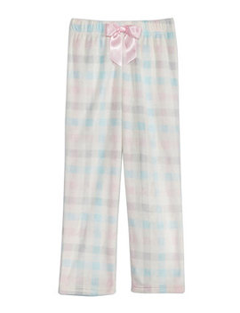 Big Girls Plaid Print Pajama Pants by Max & Olivia