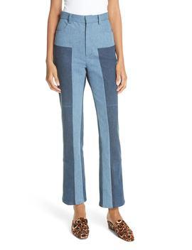Bismark Two Tone Denim Pants by Rachel Comey