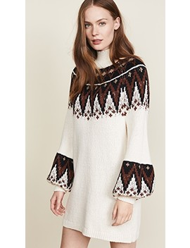 Scotland Sweater Mini Dress by Free People