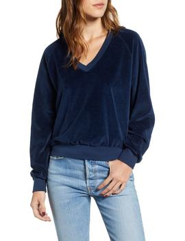 Velour Sweatshirt by Pst By Project Social T