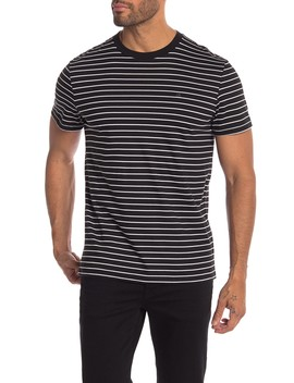 Stripe Short Sleeve Tee by Calvin Klein