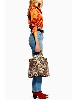 Caz Porto Carpet Tote Bag by Topshop